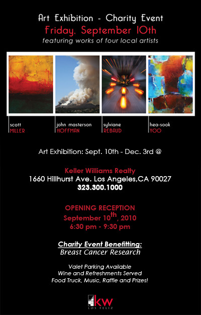 Art Exhitibion & Charity Event Keller Williams Realty Los Feliz